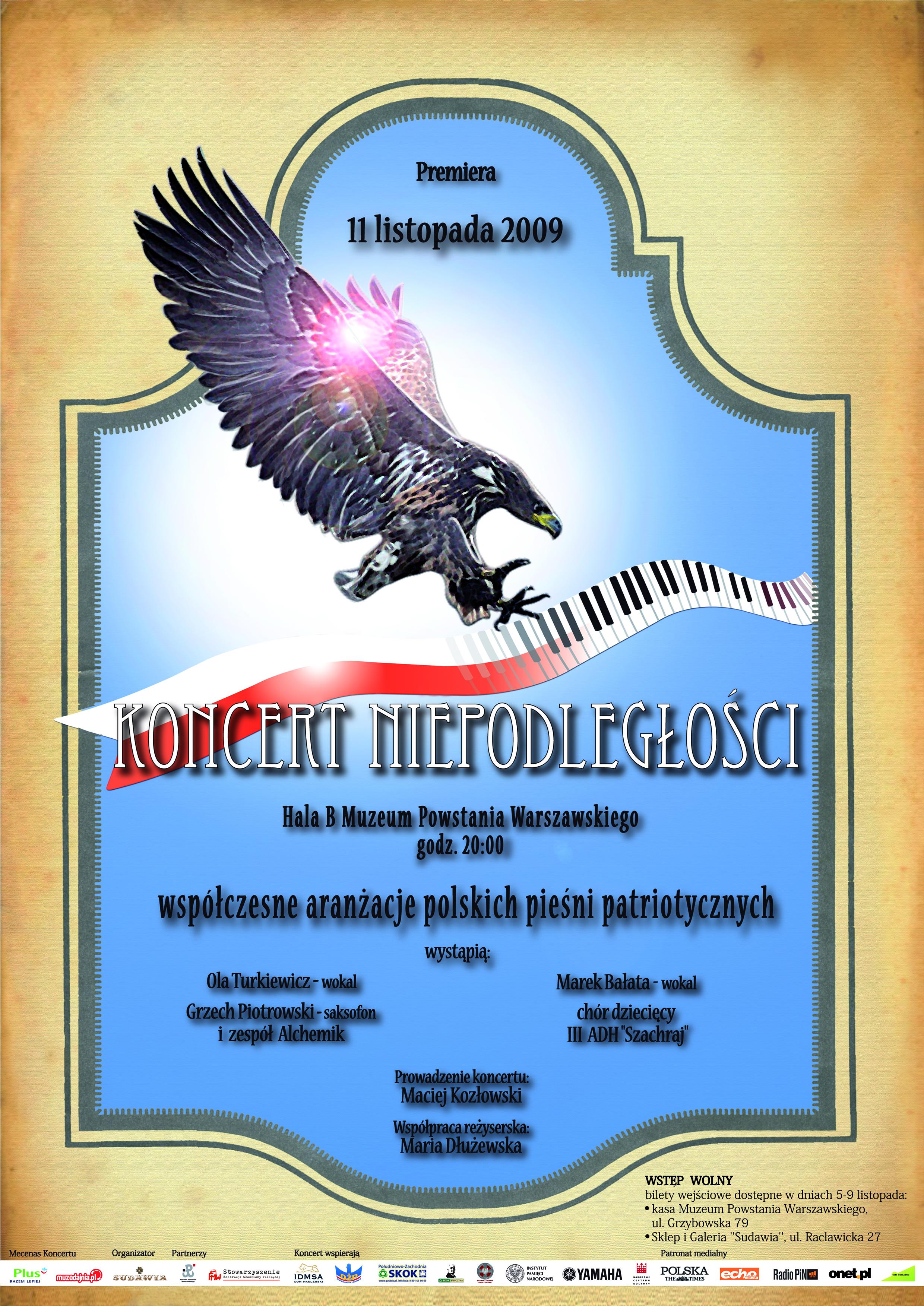 """Plakat KN2009 """"Premierowy"""""""