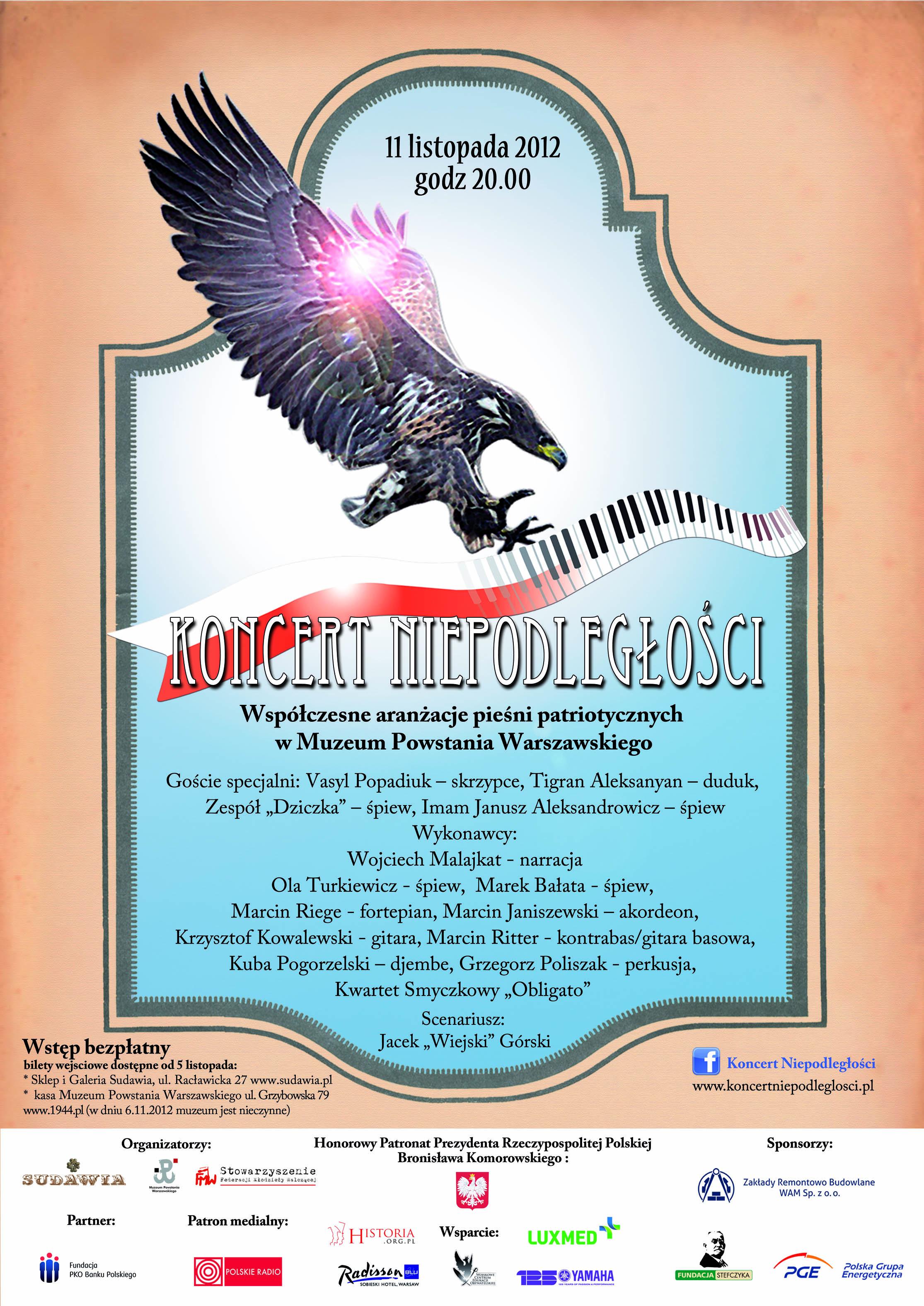 """Plakat KN2012 """"Za Naszą i Waszą Wolność"""""""