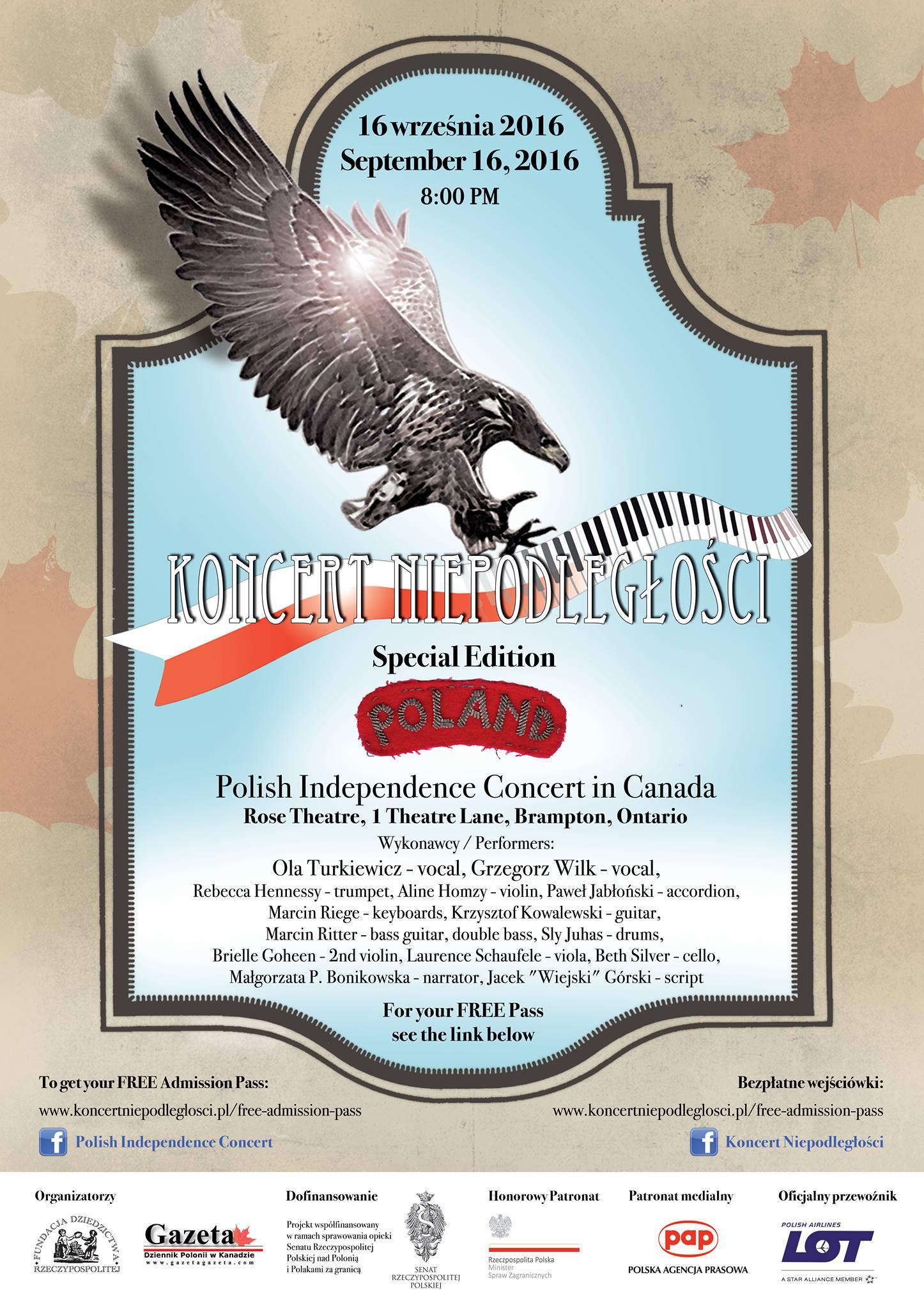 Plakat KN2016 Kanada