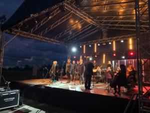 Zespół podczas V Koncertu Niepodległości Westerplatte.